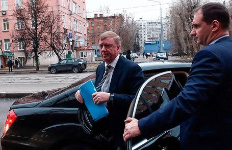 Глава «Роснано» Анатолий Чубайс, вызванный в Черемушкинский суд по делу экс-главы «Роснанотех» Л.Меламеда