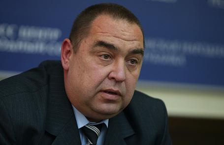 Действующий глава ЛНР Игорь Плотницкий.