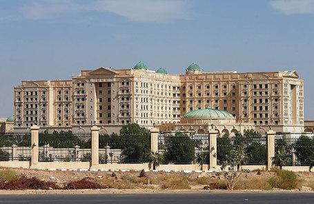 Отель Ritz Carlton в Эр-Рияде.