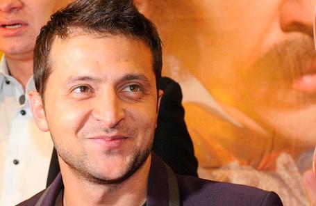 Актер Владимир Зеленский.