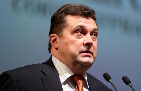 Избранный председателем Союза журналистов России Владимир Соловьев на XII съезде Союза журналистов России.