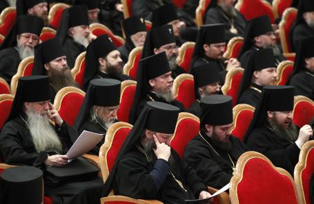 Архиерейский собор Русской православной церкви в Москве