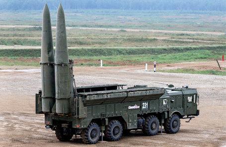 Оперативно тактический ракетный комплекс «Искандер».