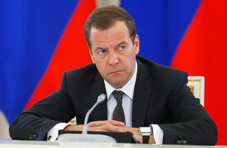 Премьер-министр РФ Дмитрий Медведев.