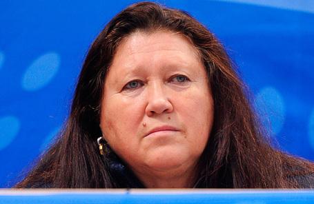 Главный тренер женской сборной России по керлингу Ольга Андрианова.