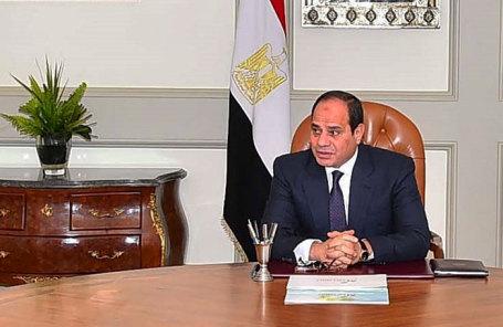 Президент Египта Абдул-Фаттах Ас-Сиси.