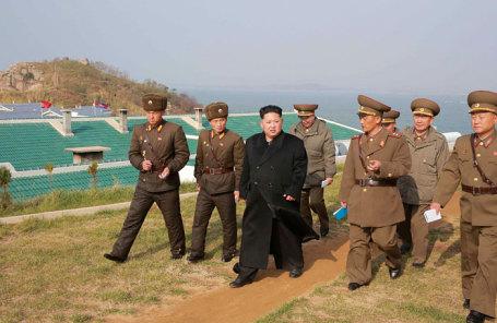 Глава Северной Кореи Ким Чен Ын.
