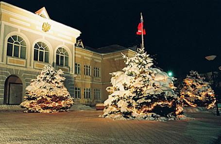 Здрание посольства РФ в Баку, Азербайджан.