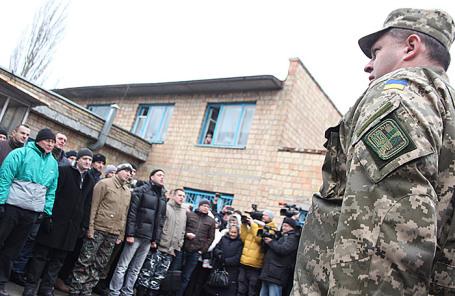 Военный призыв в украинскую армию.