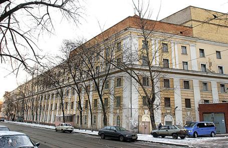 Здание СИЗО «Матросская тишина».
