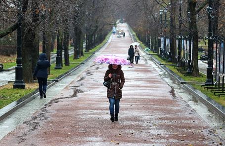 «Тропические» ливни прогнозируются в столице России  впредстоящие выходные