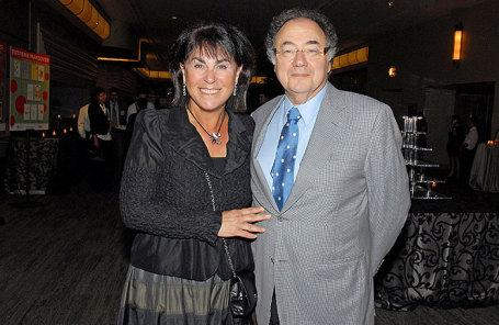 Барри Шерман с супругой Хани.