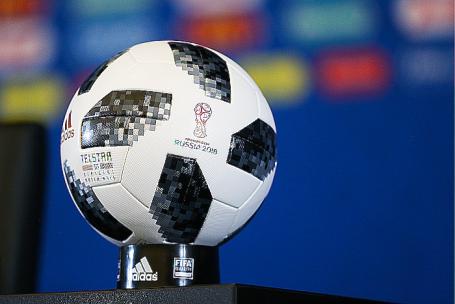 Официальный мяч чемпионата мира по футболу 2018 года Adidas Telstar 18.