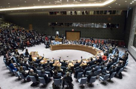 Заседание Совета Безопасности ООН по проекту резолюции о статусе Иерусалима.