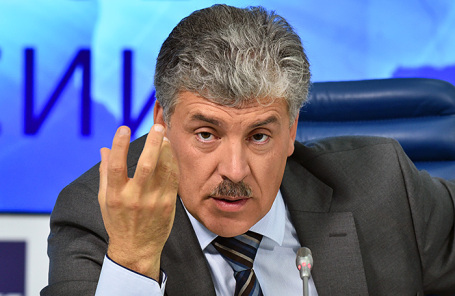 Директор Совхоза имени Ленина Павел Грудинин.