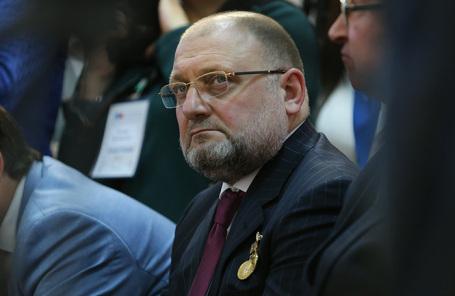 Министр Чеченской Республики по национальной политике Джамбулат Умаров.