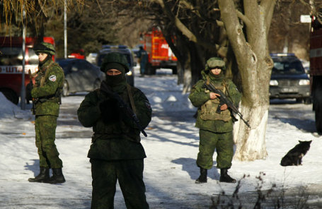 Франция иГермания могут стать посредниками для возвращения офицеровРФ вСЦКК