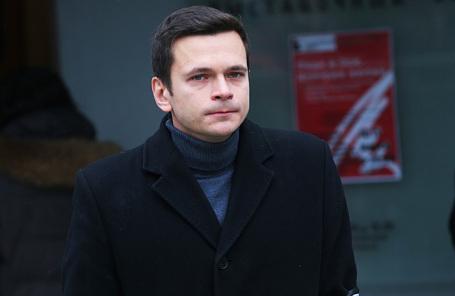 Глава муниципальных депутатов Красносельского района Москвы Илья Яшин.