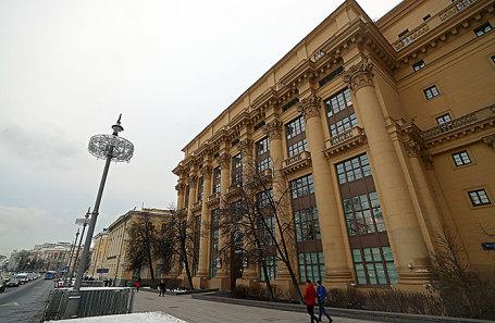 Здание акционерной финансовой корпорации «Система» на Моховой улице в Москве.