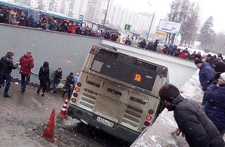 ДТП на Кутузовском проспекте, 25 декабря 2017.