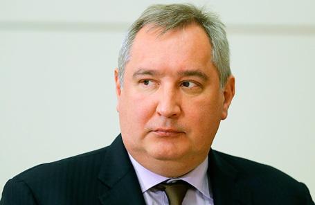 Вице-премьер Дмитрий Рогозин.