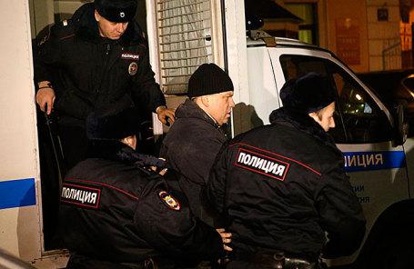 Экс-директор кондитерской фабрики «Меньшевик» И.Аверьянов на избрании меры пресечения, 28 декабря 2017.