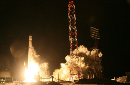 Запуск «Зенит-3SLБФ» с КА «Ангосат» с космодрома Байкнур.