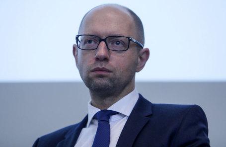 Экс-премьер-министр Украины Арсений Яценюк.