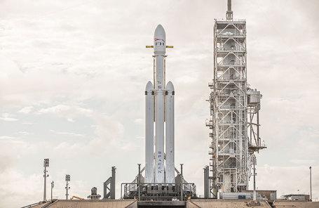 Ракета Falcon Heavy.
