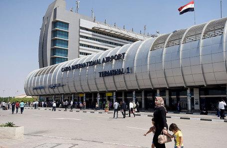 Аэропорт Каира.