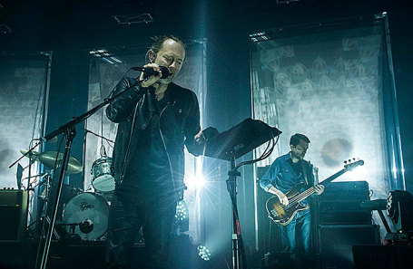 Группа Radiohead.