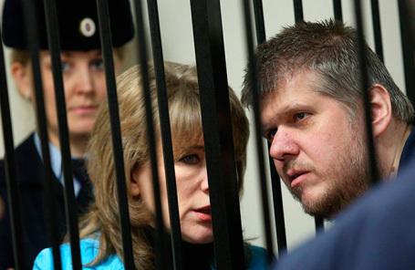 Слушания по существу по делу лидера секты «бога Кузи» Андрея Попова в Пресненском суде.