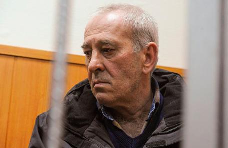 Ходатайство следствия об избрании меры пресечения Виктора Тихонову в Басманном суде.