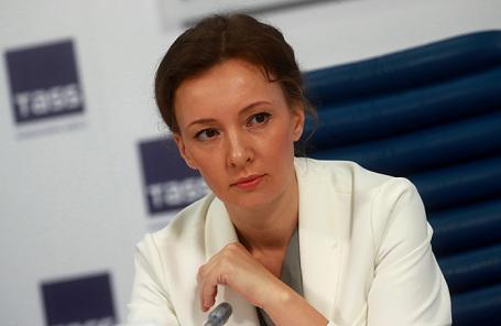 Уполномоченный при президенте РФ по правам ребенка Анна Кузнецова.