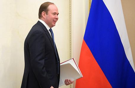Глава администрации президента России Антон Вайно.