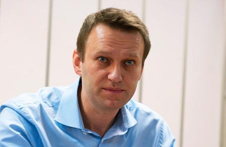 Оппозицтонер Алексей Навальный.
