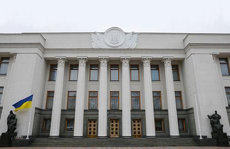 Здание Верховного совета Украины.
