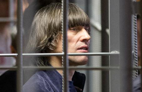 Андрей Кочуйков, известный под прозвищем Итальянец, в Никулинском суде.
