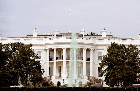 Здание Белого дома в Вашингтоне.