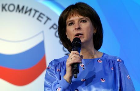 Легкоатлетка и спортивный комментатор Ольга Богословская