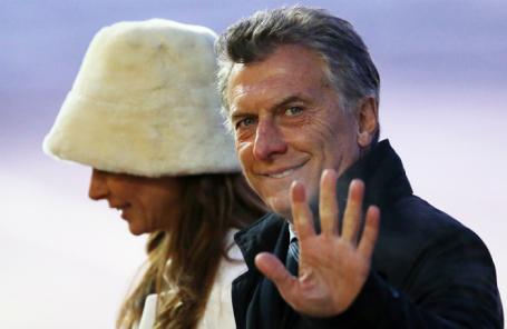 Президент Аргентины прибыл свизитом в РФ