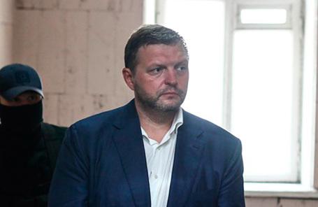 Бывший губернатор Кировской области Никита Белых, обвиняемый по делу о взятке.