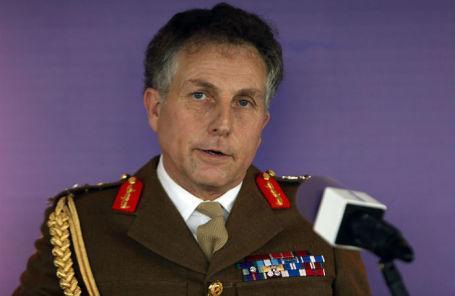 Глава Генштаба Вооруженных сил Великобритании генерал Николас Картер.