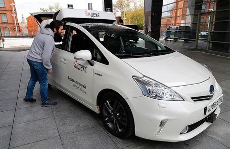 Беспилотный автомобиль, разработку которого ведет «Яндекс. Такси».
