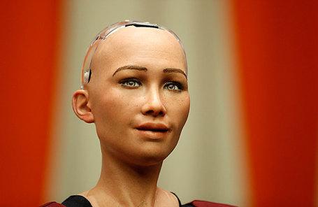 Робот София.