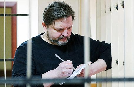 Никита Белых в Пресненском суде, 26 января 2018.