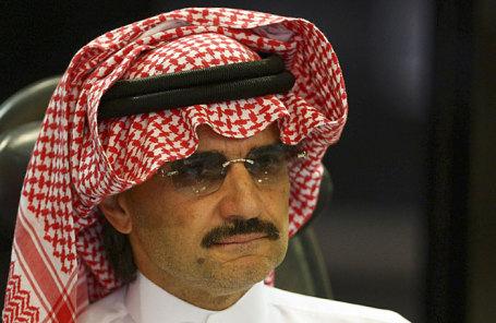 Принц аль-Валид ибн Талал.