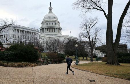 Капитолий в Вашингтоне.