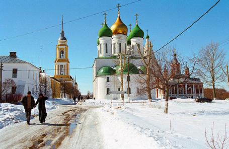 Успенский собор Коломенского кремля.