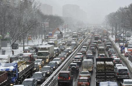Ленинградское шоссе.